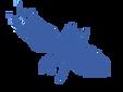 Conceptual Image of Termite in Blue